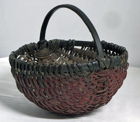 Painted Melon Basket