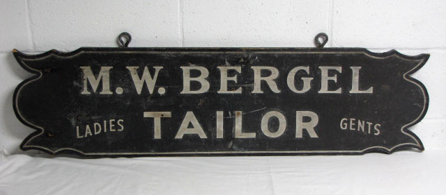 Tailor Trade Sign
